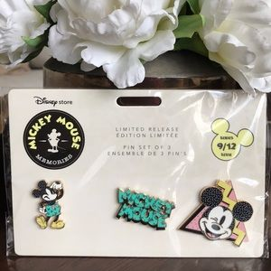 Disney Mickey Mouse memories Pin Set - September